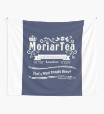 MoriarTea 2014 Edition (white) Wall Tapestry