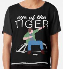 Supernatural - Eye of the Tiger Chiffon Top