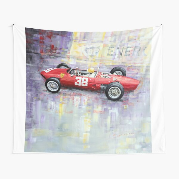 1962 Ricardo Rodriguez Ferrari 156 Tapestry