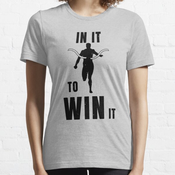 Sprinter In It To Win It Athlete Gift Essential T-Shirt