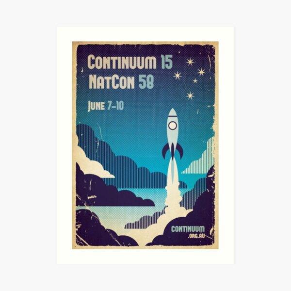 Continuum 15 v1 Art Print