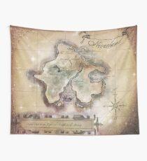 Klassische Neverland Map Blanket King Size Wandbehang