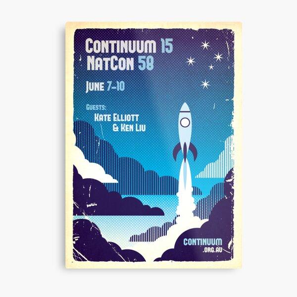 Continuum 15 v2 Metal Print