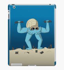 Muscular Omanyte iPad Case/Skin