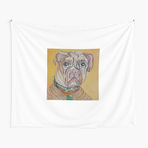 Sunshine Dog Tapestry