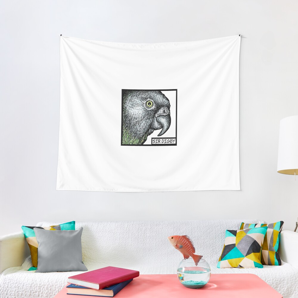 """Sir Digby, 2014"" Tapestry"