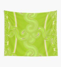Limegreen Connection Wall Tapestry
