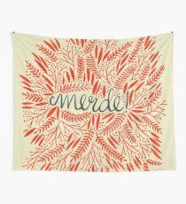 Pardon My French – Red & Cream Wandbehang