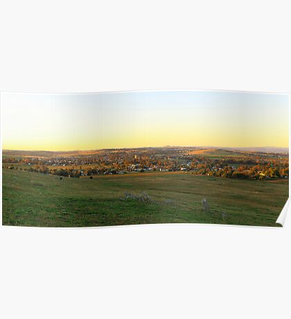 Canowindra Sunset Poster