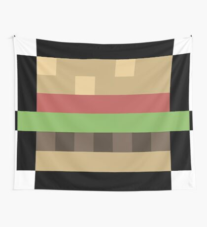 8-Bit Burger Wall Tapestry