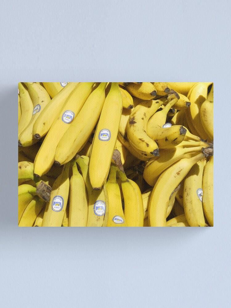 Alternate view of Food - bananas (Bonita #4011) Canvas Print
