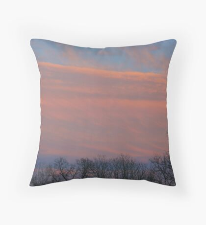 Red Bank Throw Pillow