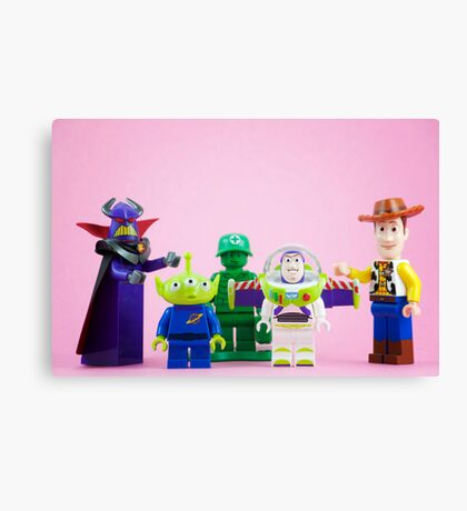 The Gangs All Here Canvas Print