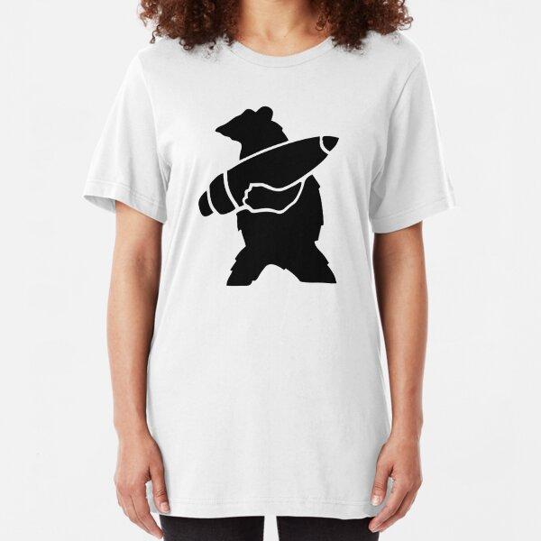 Wojtek The Bear logo Slim Fit T-Shirt