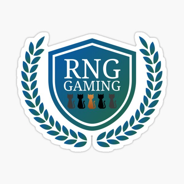 RNG Gaming Logo 2019 Sticker
