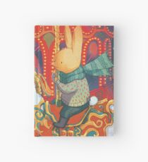 Rabbits at the Fairground Hardcover Journal