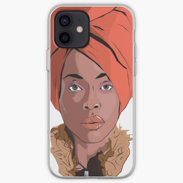 Erykah Badu iPhone Soft Case