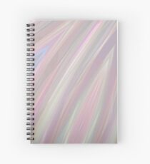 Pastelito  - Ombre Pastel Colors Abstract Art Spiral Notebook
