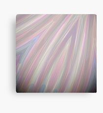 Pastelito  - Ombre Pastel Colors Abstract Art Canvas Print