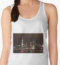 Shanghai Skyline at Night Women's Tank Top