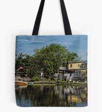 Lakeside Cafes Tote Bag