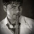Funny Boy Play Whit  Water...... by Rajveer Kumra