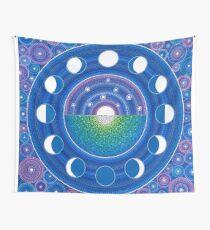 Tela decorativa Moon Phase Mandala