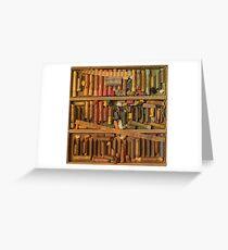 vintage pastels Greeting Card