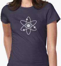 Atom - Textured Women's Fitted T-Shirt