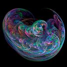 Fractal bubble effect by SteveHphotos