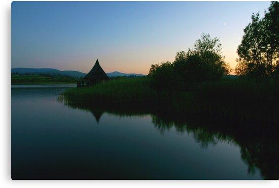 Llangorse Lake - 10pm by David Meacham