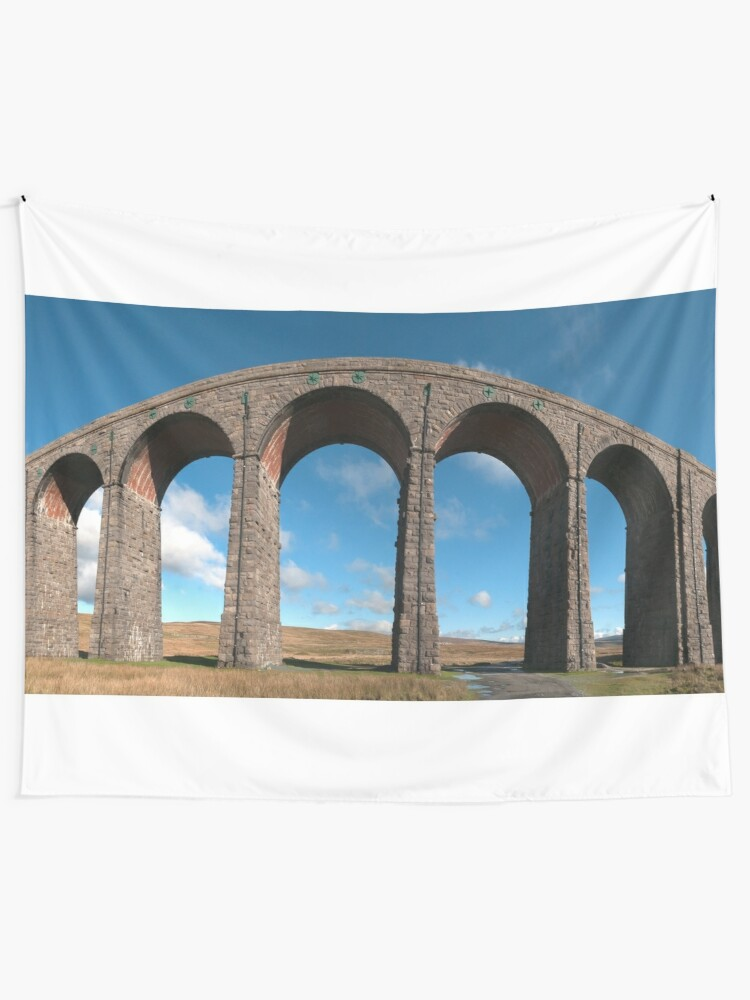Alternate view of Ribblehead Viaduct, Panorama Tapestry