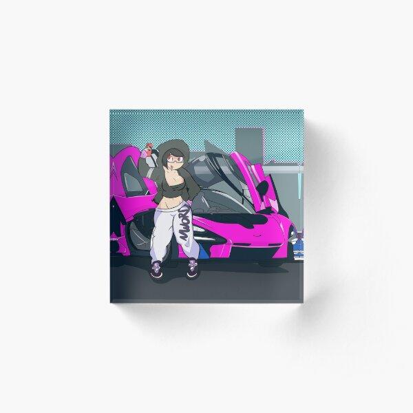 McLaren Girl Acrylic Block
