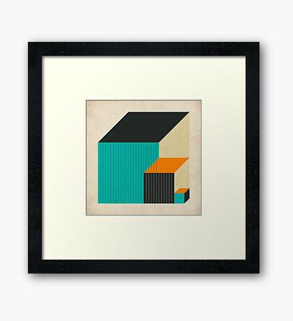 CUBES (11) Framed Print