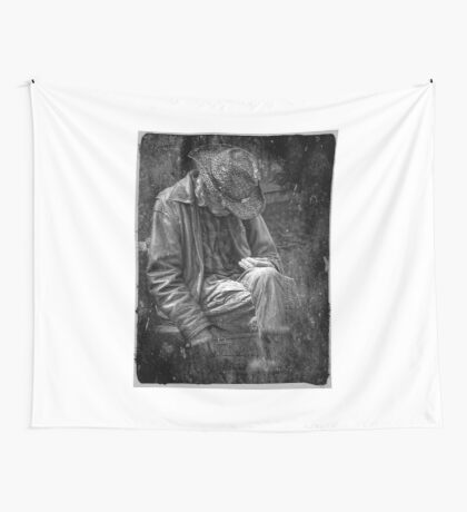 The Wandering Man Wall Tapestry