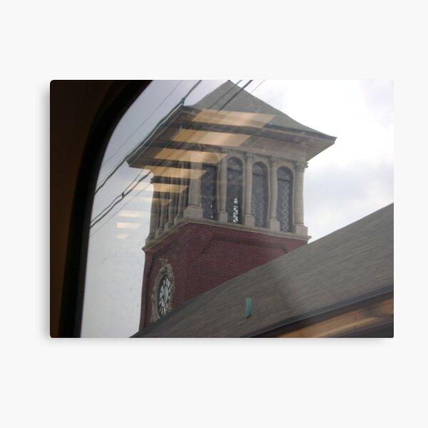 Broad Street station , Newark Metal Print