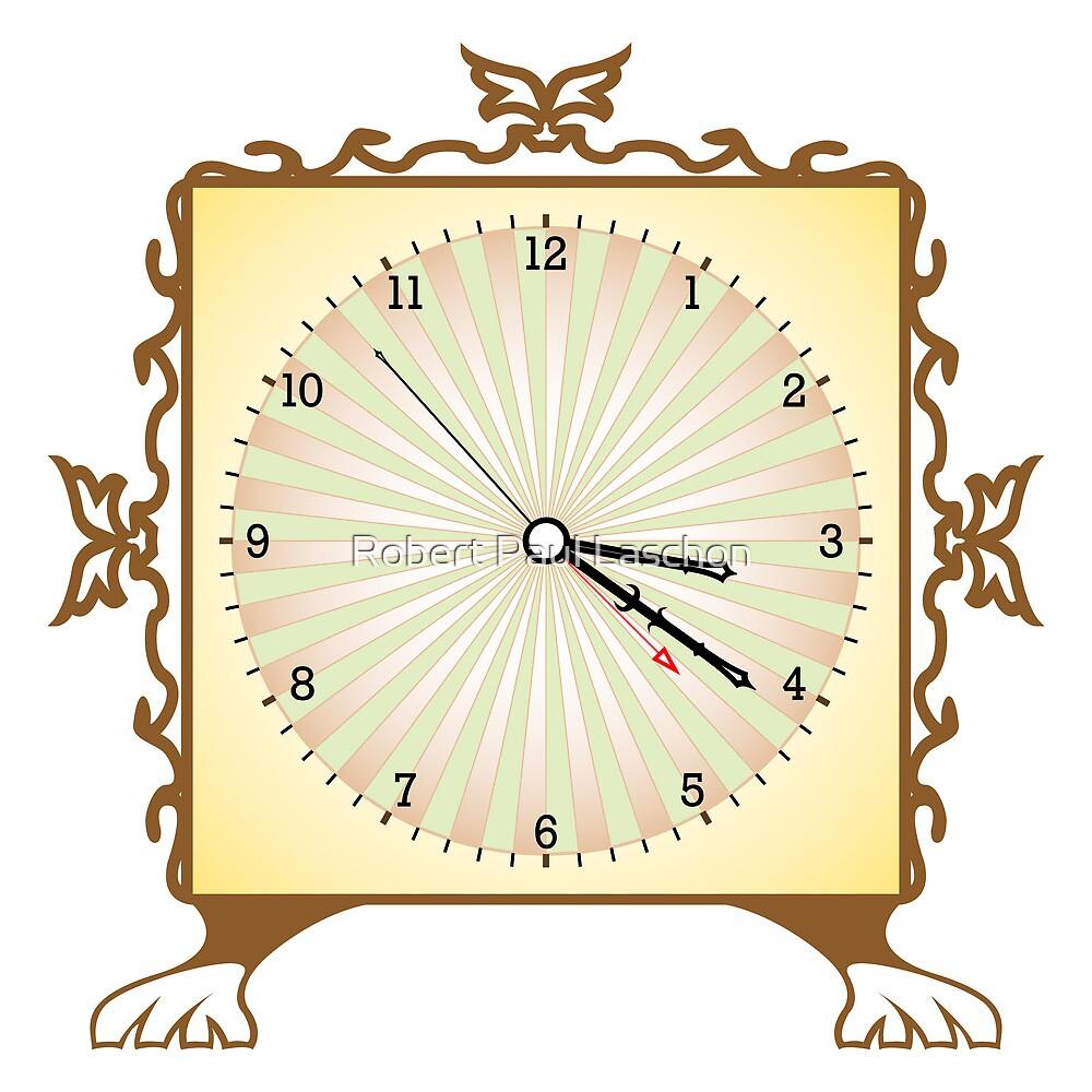 Abstract clock by Laschon Robert Paul
