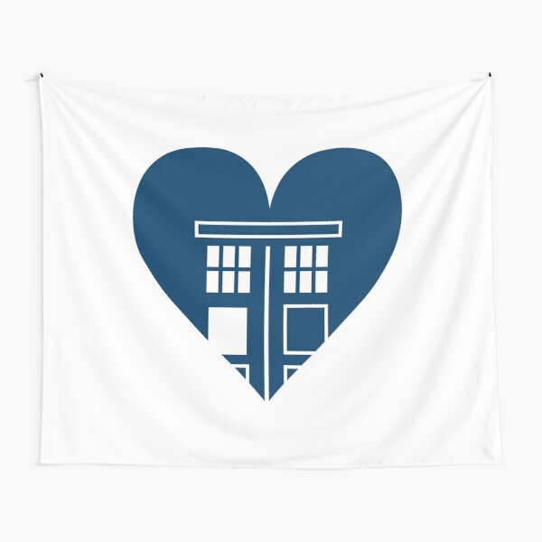 Gotta Love the TARDIS Tapestry