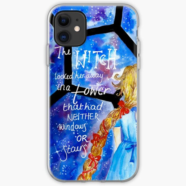 The Lunar Chronicles- Cress w/ Quote iPhone Soft Case