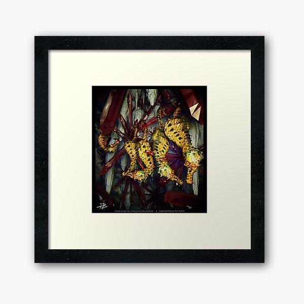 Ocean Invasion #4: Crystal Cave of the Landhorse Framed Art Print