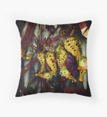 Ocean Invasion #4: Crystal Cave of the Landhorse Throw Pillow