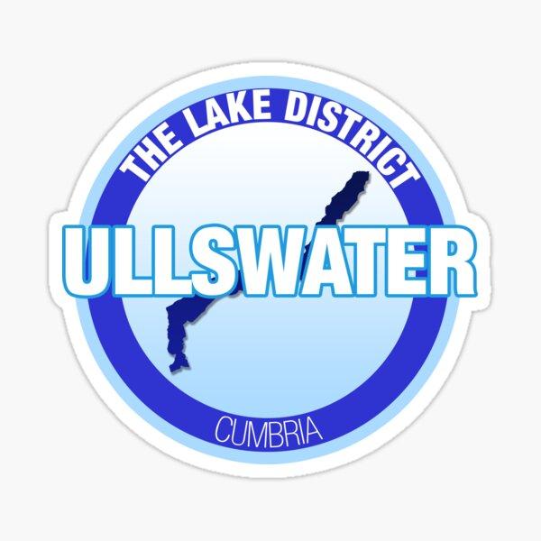 Ullswater Badge Sticker