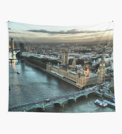 London - Palace Of Westminster Wall Tapestry