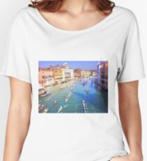 Boat Race on the Canal Women's Relaxed Fit T-Shirt