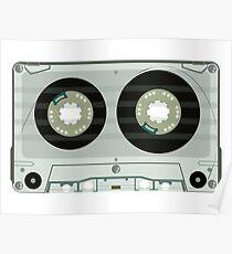 Audio tape cassette Poster