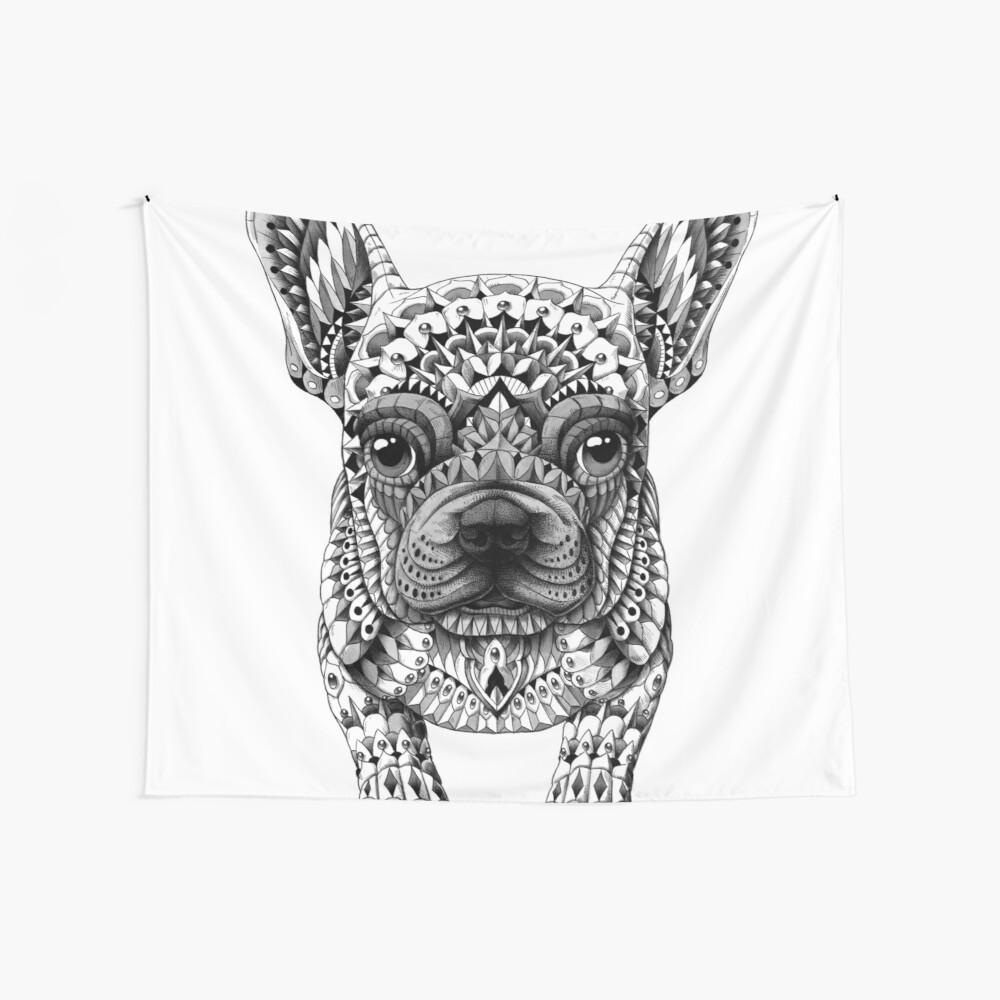 Frenchie (French Bulldog) Wall Tapestry