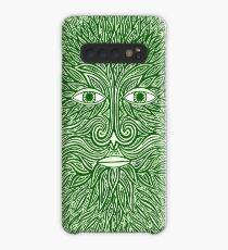 The Green Man Case/Skin for Samsung Galaxy