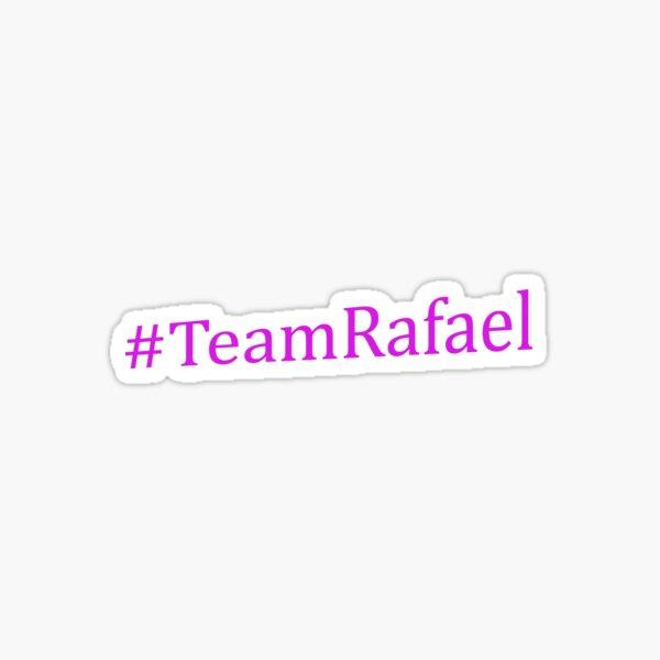 Team Rafael - Purple Text  Sticker