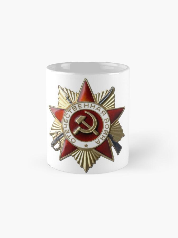 Alternate view of #Order of the #Patriotic #War #Орден Отечественной войны Standard Mug
