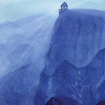 Haus auf dem Felsen von VApinx